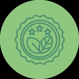 picto certifications iso et bio fruits et légumes