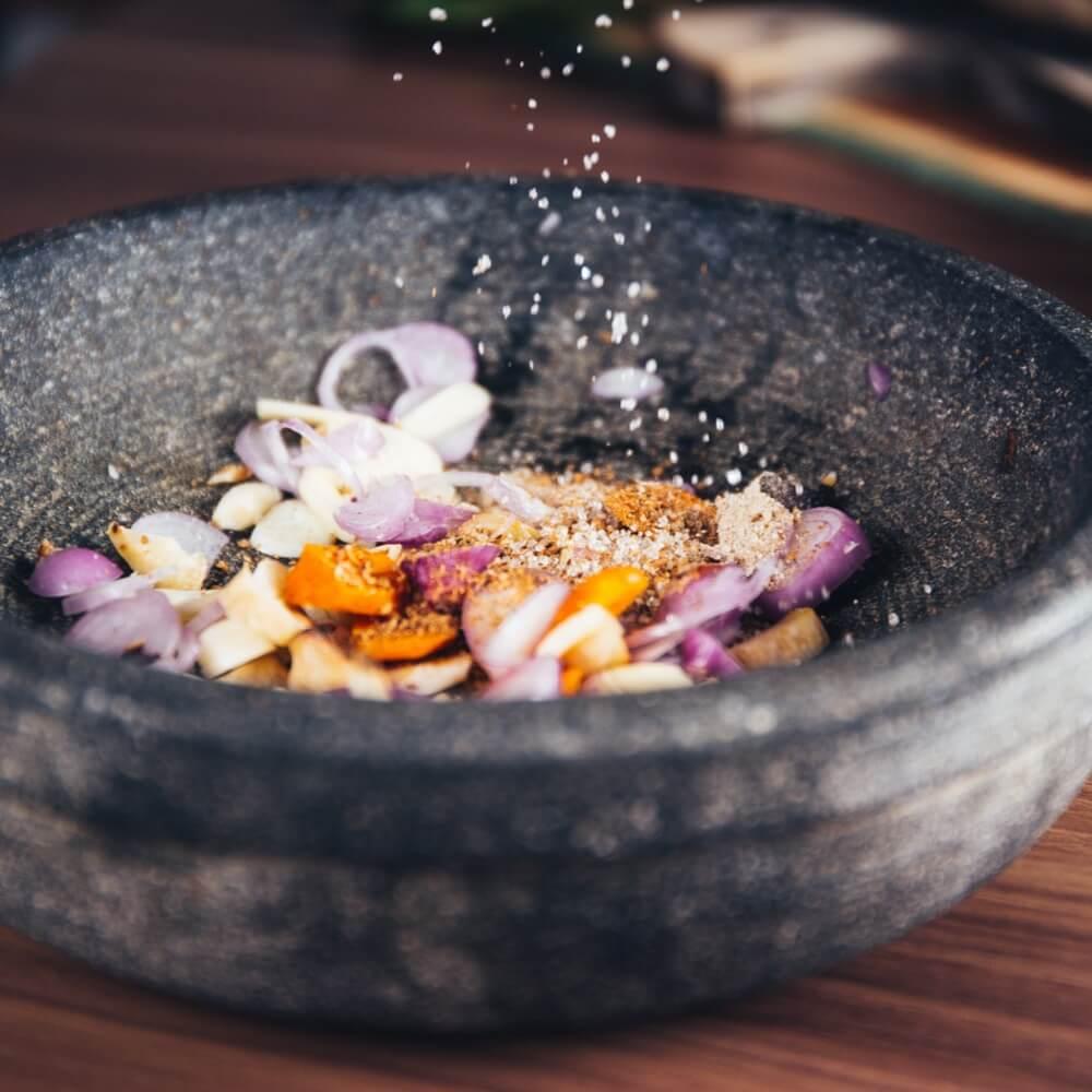 Salade de légumes locaux et bio créative