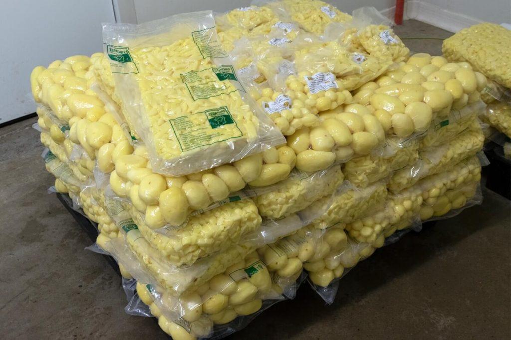 Pommes de terres locales à Moislains (80)