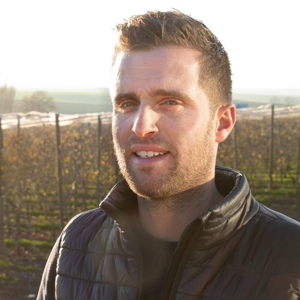 Mathieu Ternynck, producteur de pommes et de poires à Ribemont